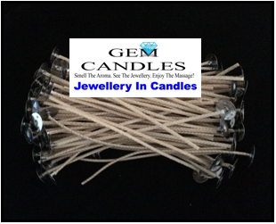 Wicks for Sprinkle Candle Kit Jars - CDN10