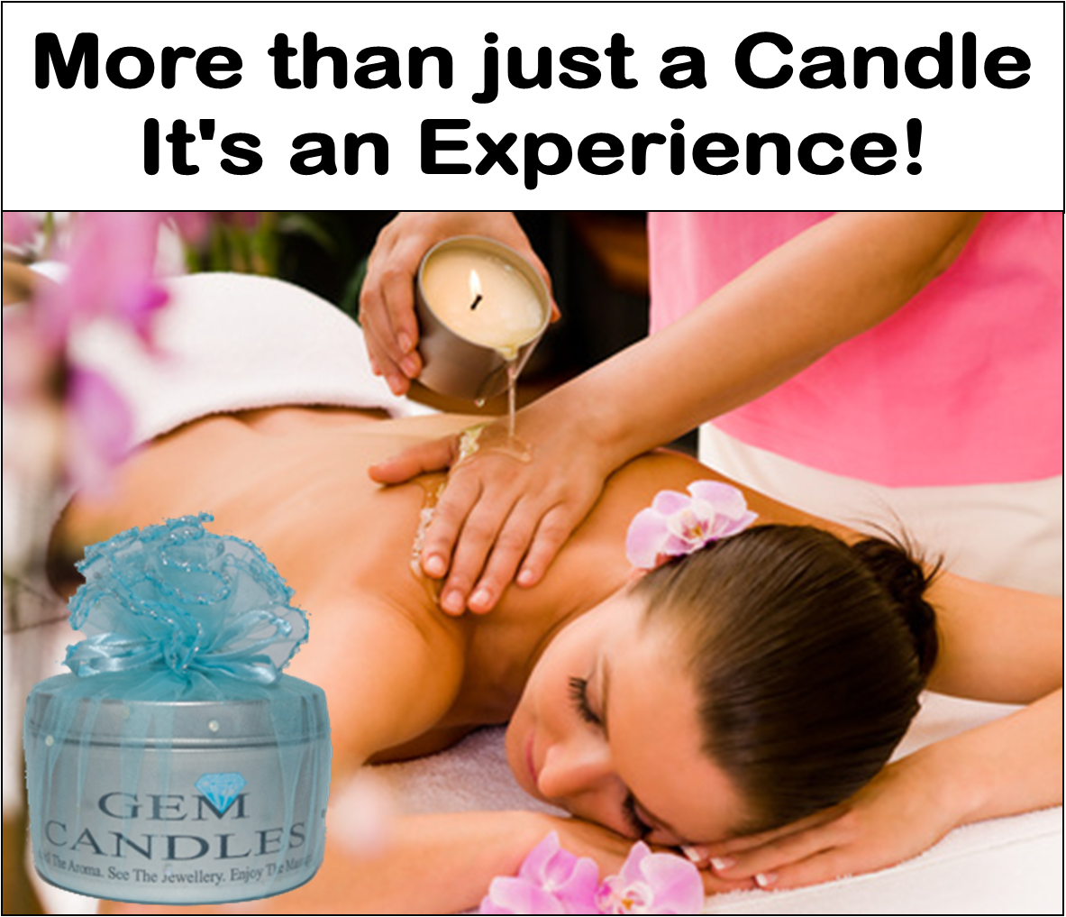 Massage Jewellery In a Candle - Sex On The Beach