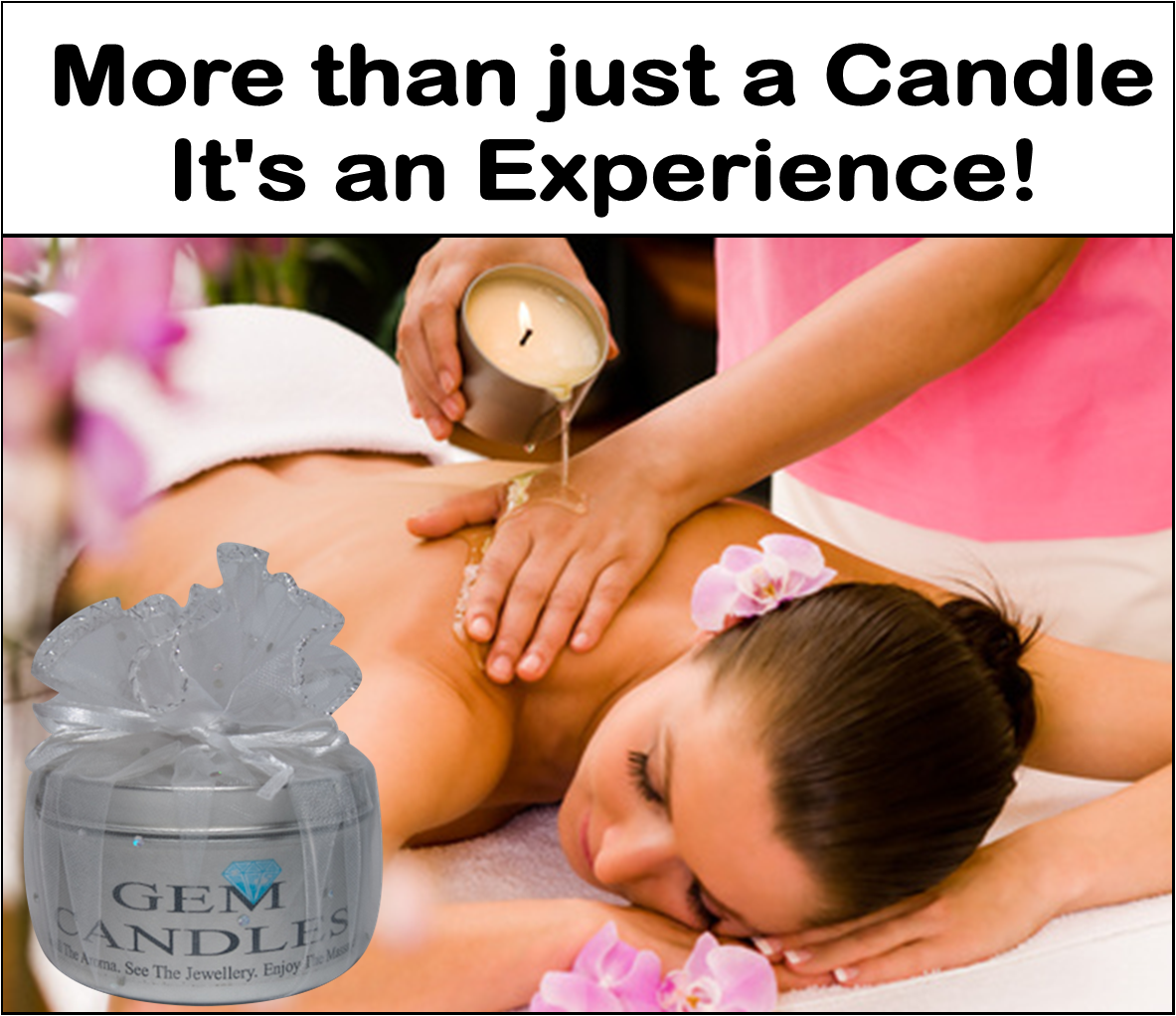 Massage Jewellery In a Candle - Unscented