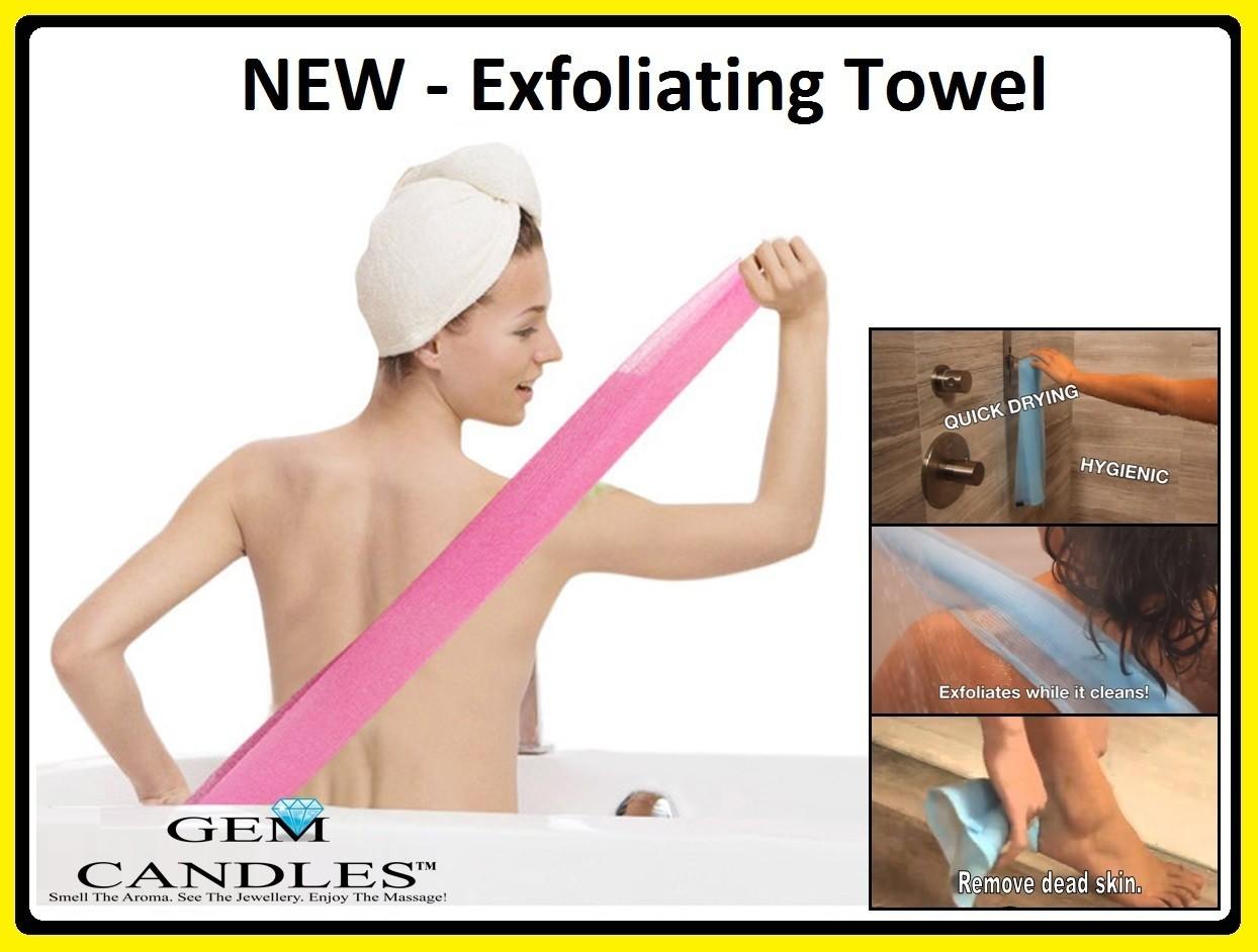 Exfoliating Towel