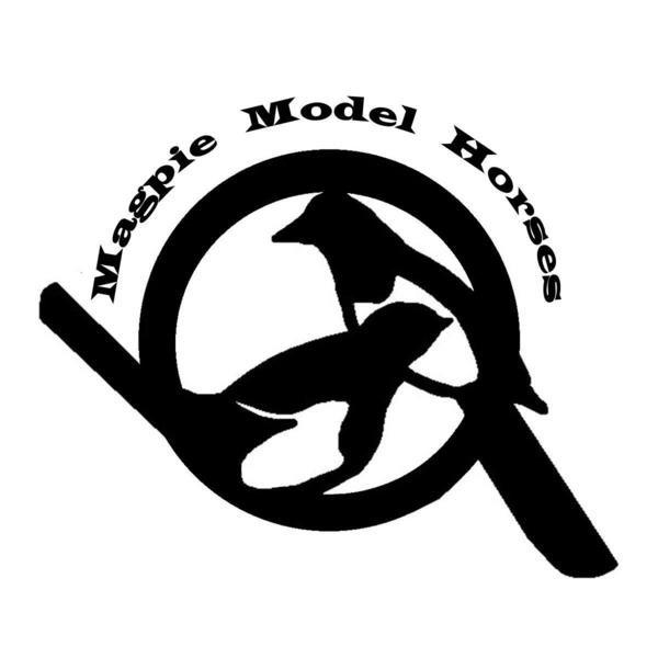 Magpie Model Horses