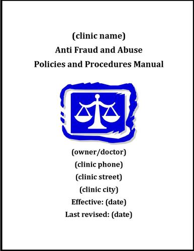OIG Anti-Fraud, Waste and Abuse Compliance Manual (Includes Code of Ethical Conduct) 0000005