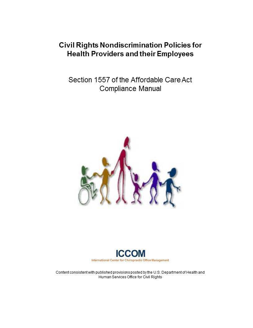 Civil Rights Nondiscrimination Policies for  Health Providers and their Employees 00001