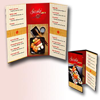 Full Color 100 lb. Gloss Paper Brochures/Flyers