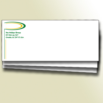 1 or 2 Color Classic Paper Envelopes