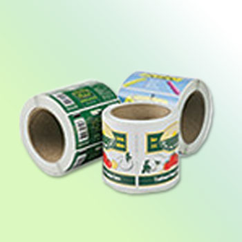 Die Cut Labels on a Roll