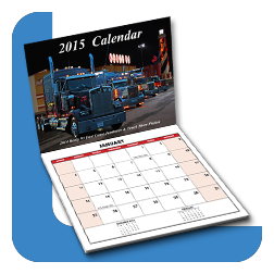 Full Color Digital Printed Calendars