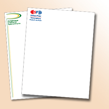 1 - 2 Color Classic Paper Letterhead