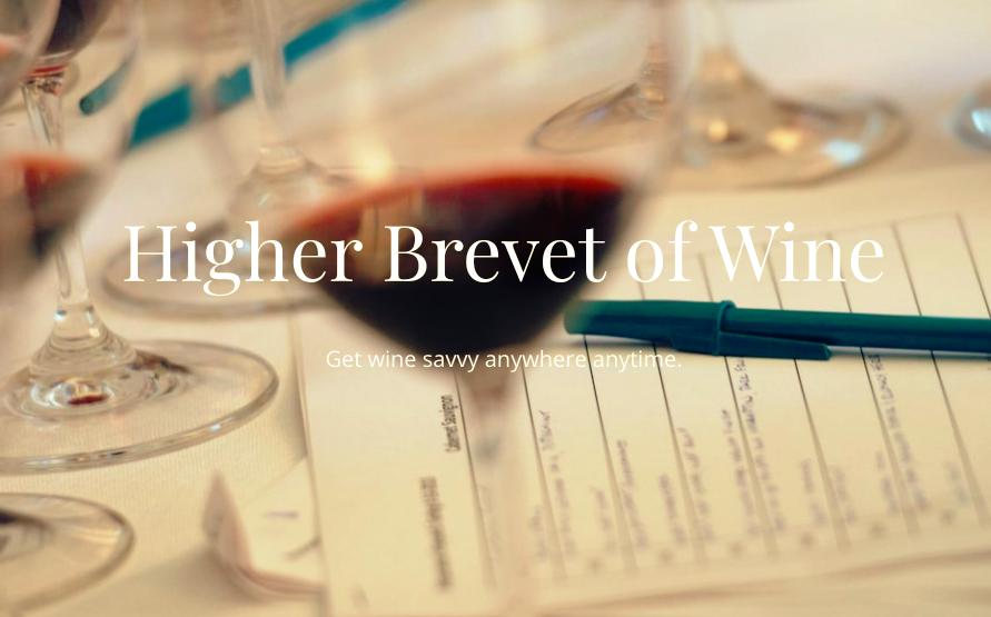 Higher Brevet of Wine