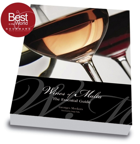 BOOK: Wines of Malta - hard-bound, 132 pages, full colour, with dust jacket
