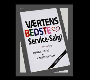 VÆRTENS BEDSTE Service-Salg! - Arbejdshæfte