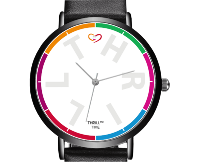 THRILL™ Time armbåndsur - hvid urskive
