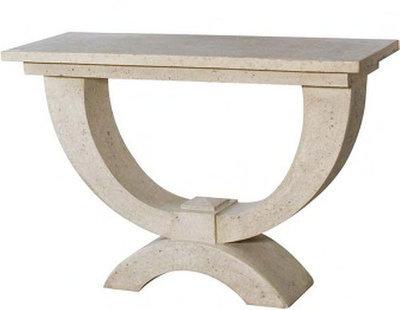 Moderno Console Table   Roman Stone