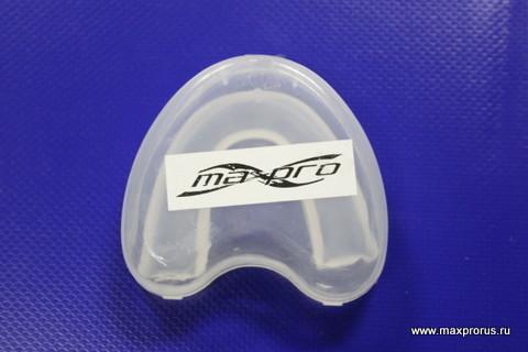 """Капа """"maxpro"""" для взрослых одночелюстная в коробочке."""