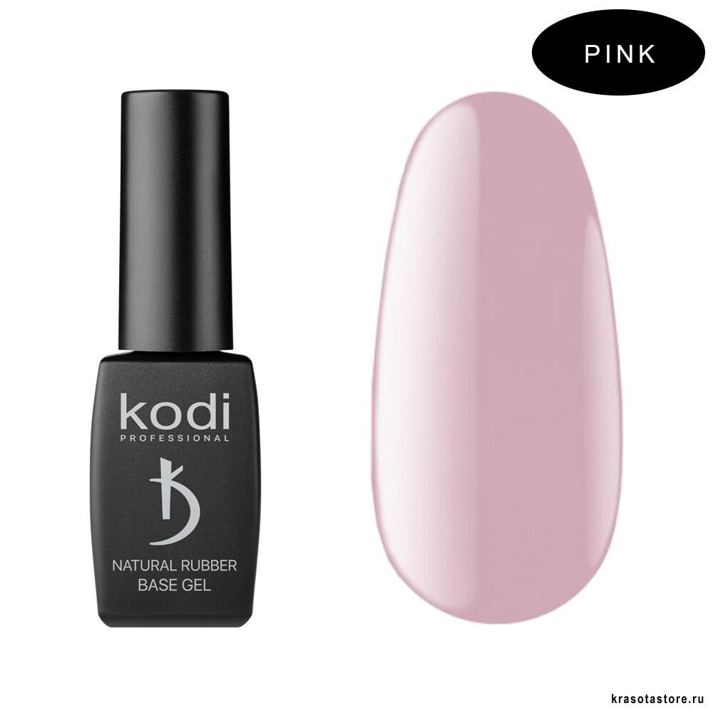 База для гель лака Каучуковая Pink Kodi Professional 12 мл
