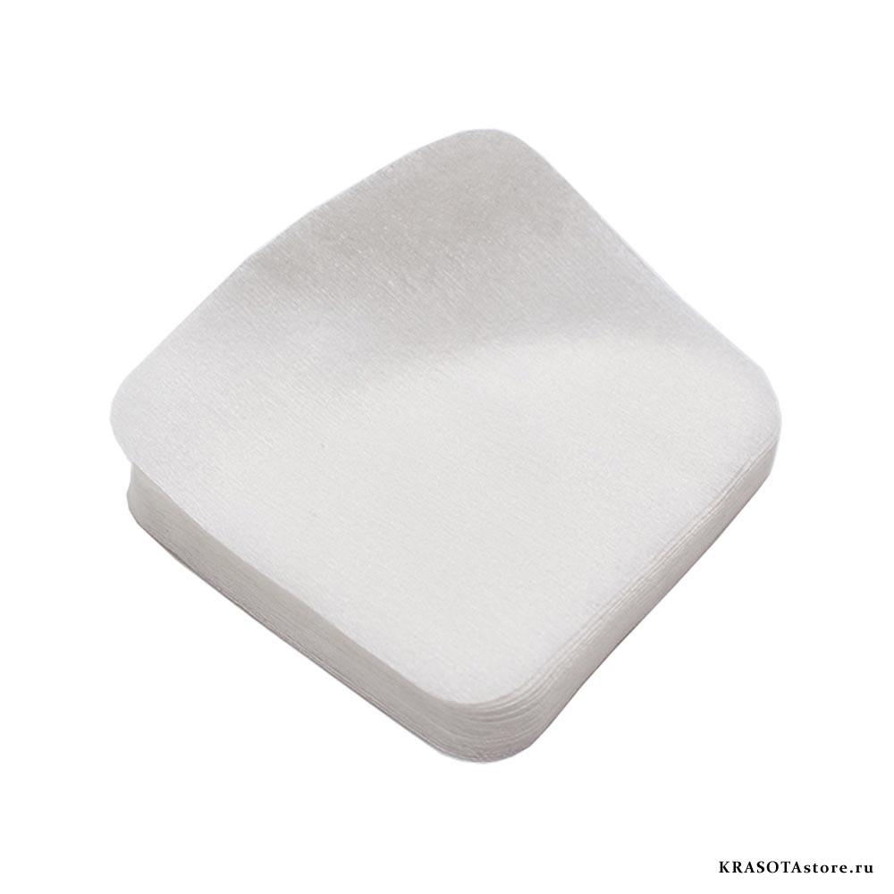 Салфетки хлопок с тиснением 10x10 см 100 шт