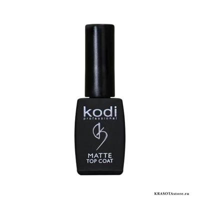 Kodi Professional Верхнее матовое покрытие для гель лака Velour (matte top coat) 8мл