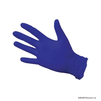 Перчатки нитриловые фиолетовые размер XL 50пар