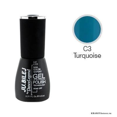 Ju.Bilej Гель лак № C3 (gel polish) 6,5мл