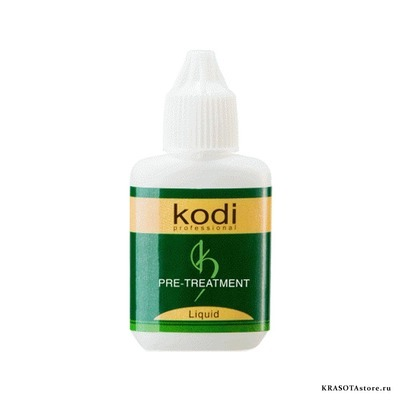 Kodi Professional Обезжириватель для ресниц (pre treatment liquid) 15гр