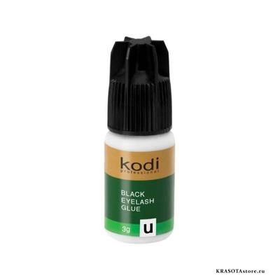 Kodi Professional Клей для ресниц (black glue for eyelash extension) U 3гр