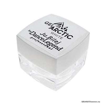 Ju.Bilej Арт гель Arctic white (art gel) 4г