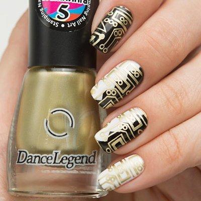 Лак для стемпинга № 5 Gold (stamping nail art) 6,5мл