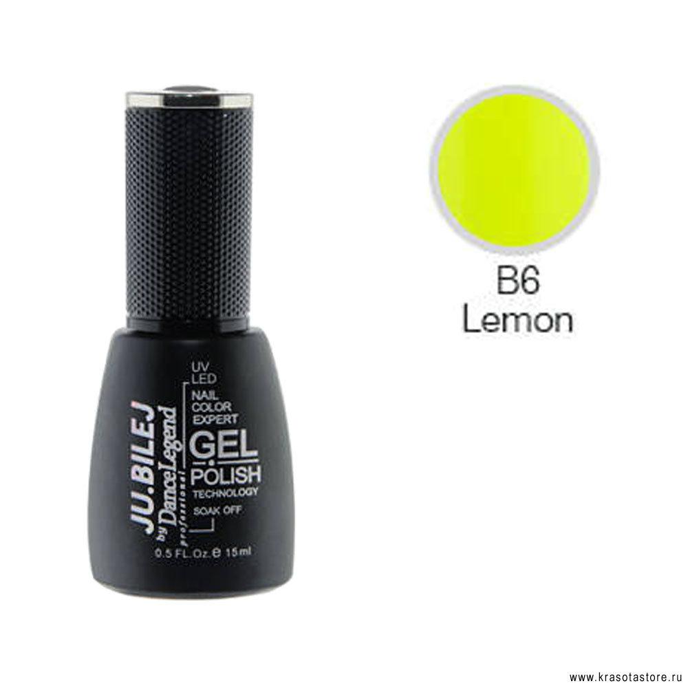 Ju.Bilej Гель лак № B6 (gel polish) 15мл