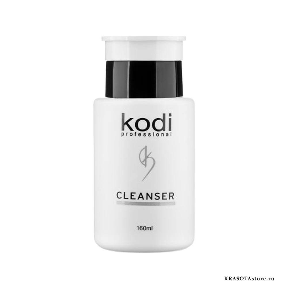 Kodi Professional Жидкость для снятия липкого слоя (cleanser) 160мл