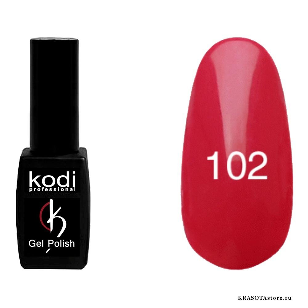 Kodi Professional Гель лак № 102 (gel polish) 8мл