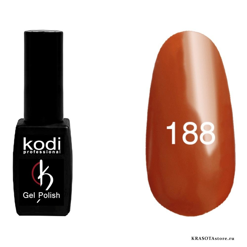 Kodi Professional Гель лак № 188 (gel polish) 8мл