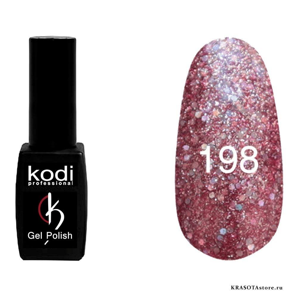 Kodi Professional Гель лак № 198 (gel polish) 8мл