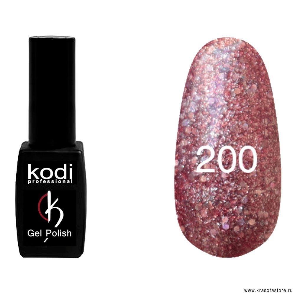 Kodi Professional Гель лак № 200 (gel polish) 8мл