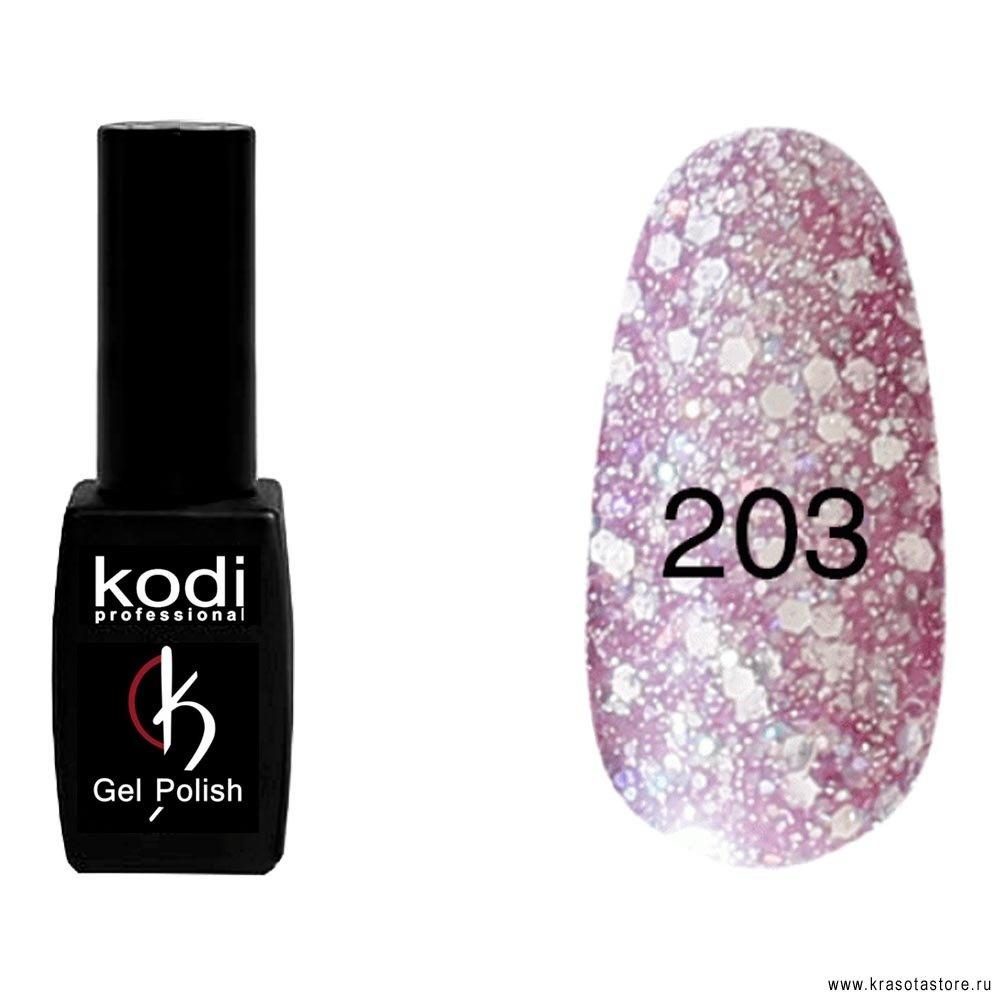 Kodi Professional Гель лак № 203 (gel polish) 8мл