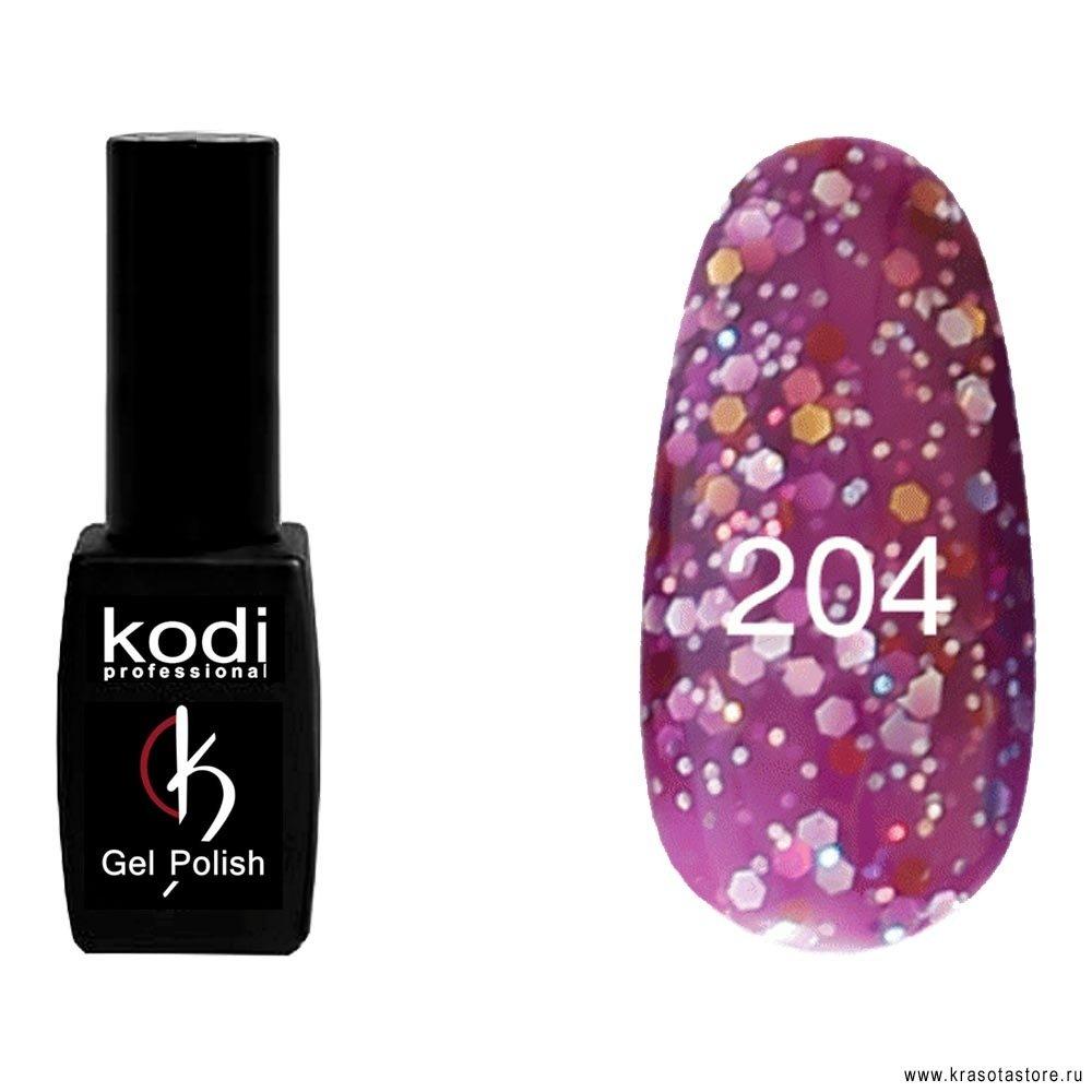 Kodi Professional Гель лак № 204 (gel polish) 8мл