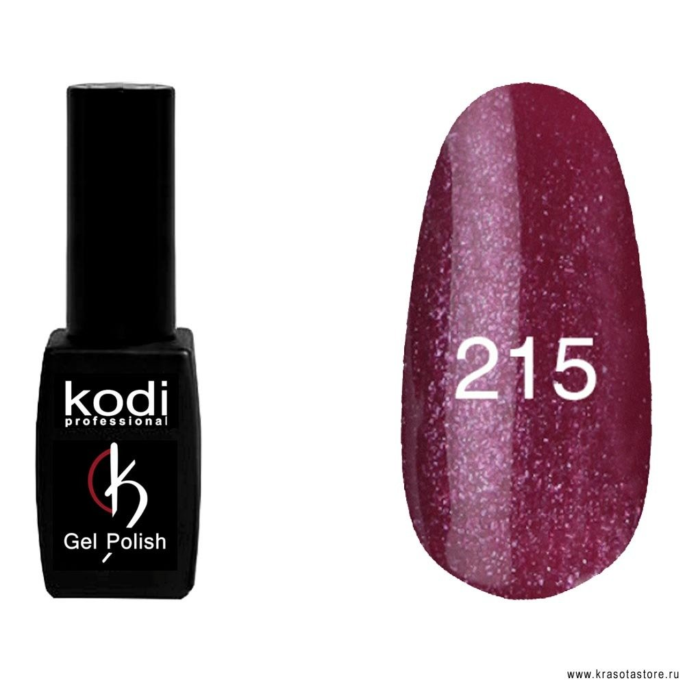 Kodi Professional Гель лак № 215 (gel polish) 8мл