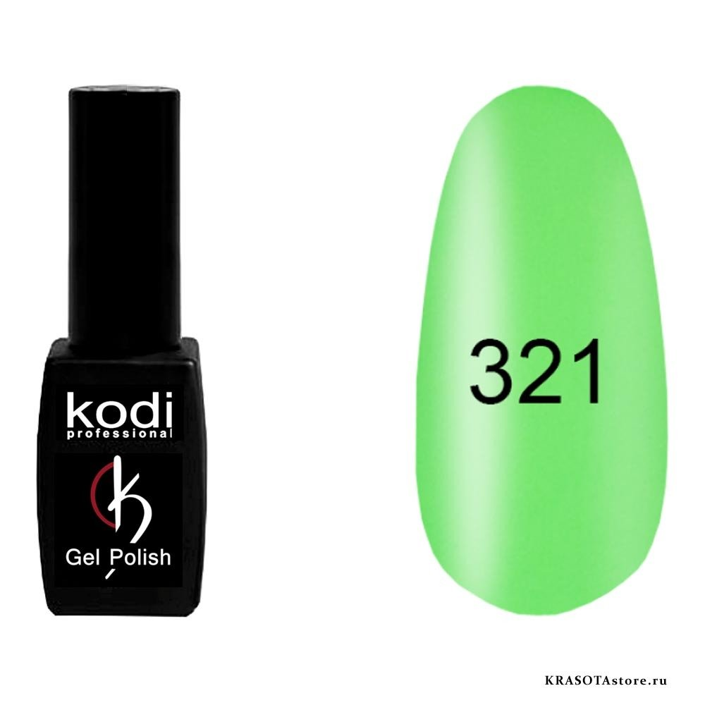 Kodi Professional Гель лак № 321 (gel polish) 8мл