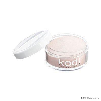 Kodi Professional Акриловая пудра камуфлирующая бежевая (glamour french 50) 22г