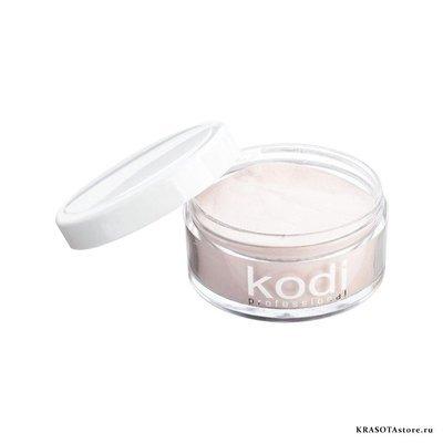 Kodi Professional Акриловая пудра камуфлирующая персиково розовая (glamour french 52) 22г