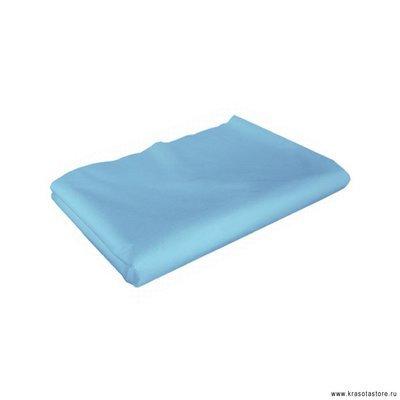 Простыня спанбонд 200x70см голубой 10шт