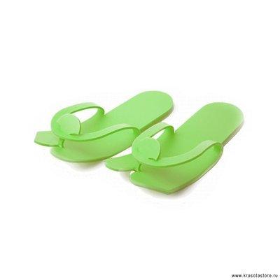 Тапочки вьетнамки 5мм зеленый 25пар