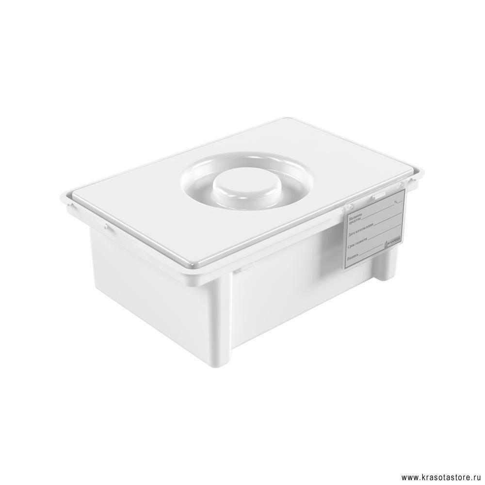 Емкость контейнер для дезинфекции инструмента ЕДПО 3л