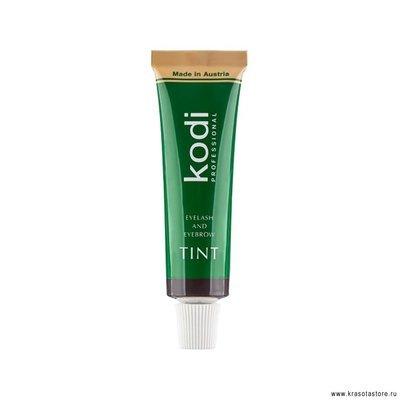 Kodi Professional Краска для бровей и ресниц (eyelash and eyebrow tint) 15мл № 1 графитовая