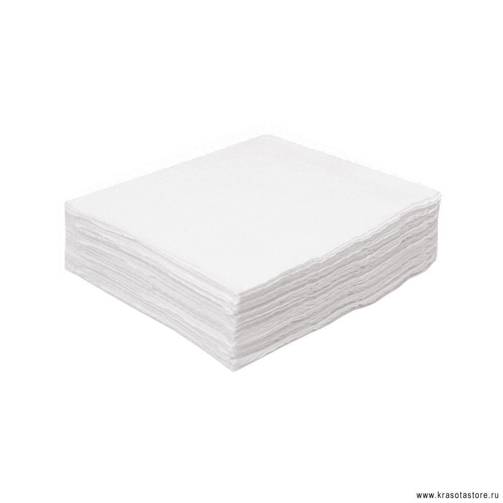Салфетки хлопок с тиснением 20x20см 100шт