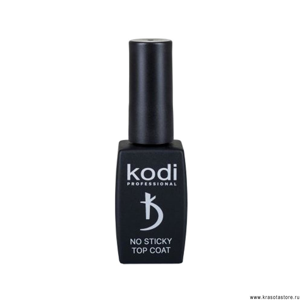 Kodi Professional Верхнее покрытие для гель лака без дисперсионного слоя (no sticky top coat) 12мл
