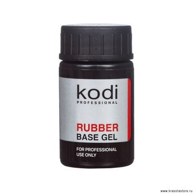 Kodi Professional База для гель лака каучуковая (rubber base) 14мл