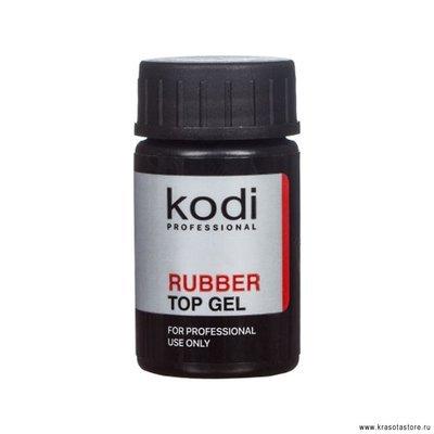 Верхнее покрытие для гель лака Каучуковое Kodi Professional 14 мл