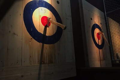 Ax Throwing 8/15