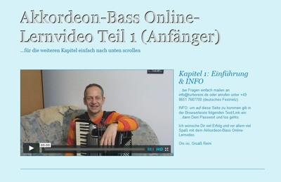 Akkordeon-Bass Lernvideo Teil 1 (Anfänger)