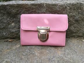 """KUHIE®,  Geldbeutel/Geldbörse Größe """"M"""" aus rosa Leder"""